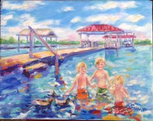 "image""The Red Pier"""