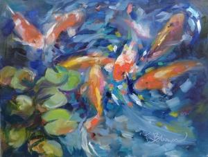 9x12 oil on pintura panel